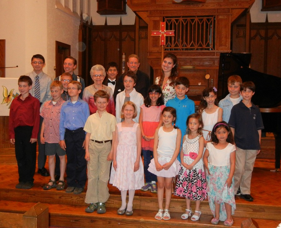 End of the Year Student Recital - May 2014