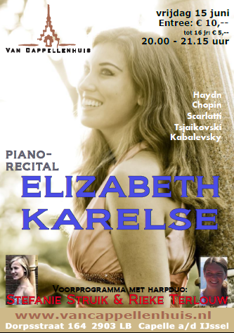 One of Elizabeth's final concerts in The Netherlands this year