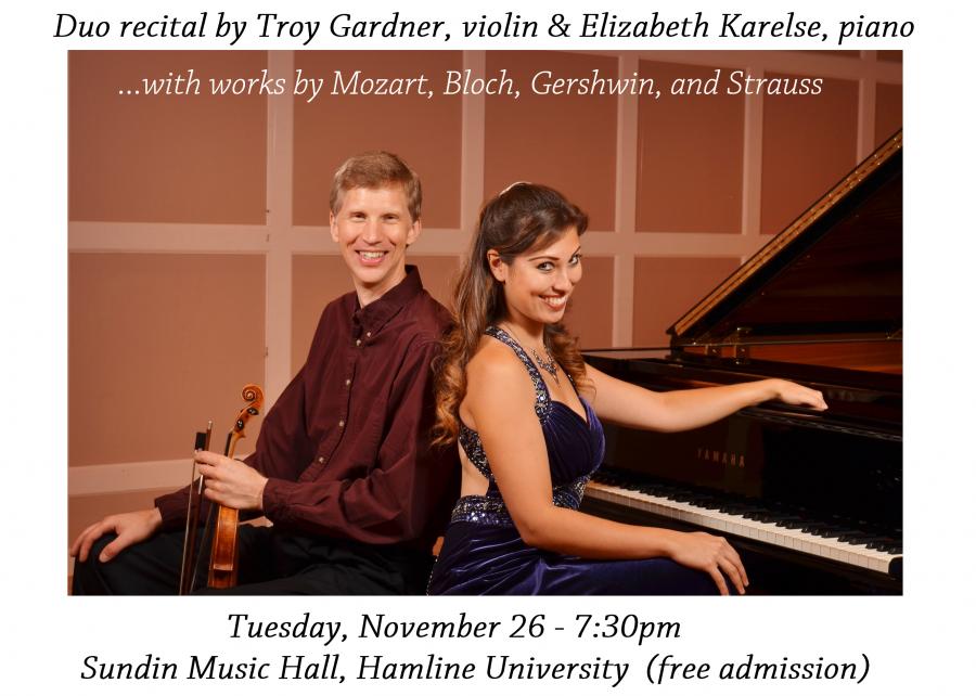 Concert announcement 11/26/2013